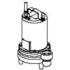 "2eh552l pompe eff. barnes 2"" 575/3/60 1/2 hp"