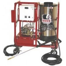 Laveuse a vapeur sioux 115v 2.1gpm 1000psi diesel