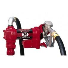 Pompe 12 volt 20 gpm fuel fill-rite fr4210 + accessoires